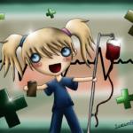 Kranke Schwester kleiner